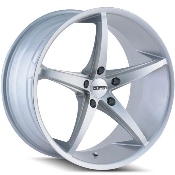 Touren TR70 Silver with Milled Spokes