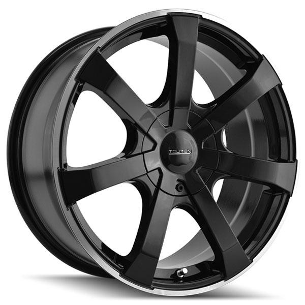 Touren TR90 Black with Machined Stripe
