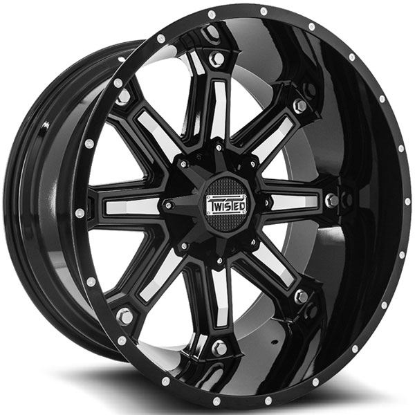 Twisted Off-Road T-23 Wraith Black with Machined Face
