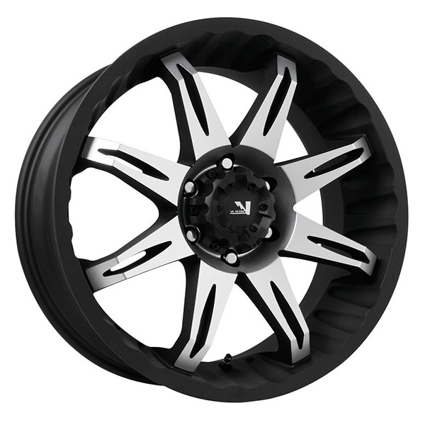V-Rock VR5 Core Matte Black with Machined Face