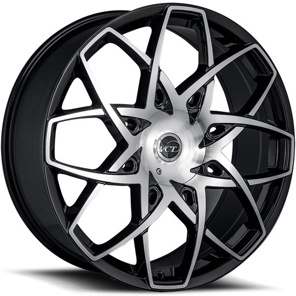 VCT Merlin Black with Machined Face