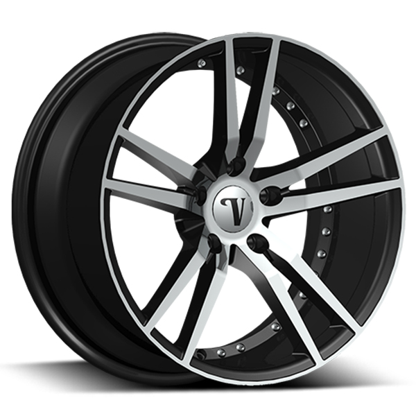 Velocity VW 20 Black with Machined Face