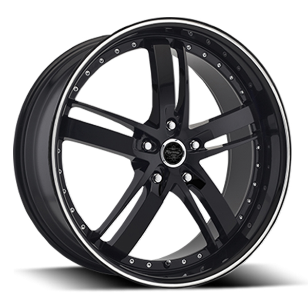 Versante 223 Black with Machined Stripe