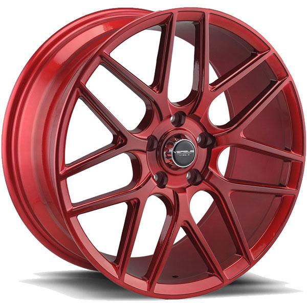 Versus VS10 Brushed Red