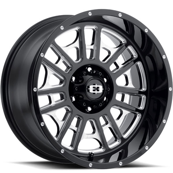Vision 418 Widow Gloss Black Milled