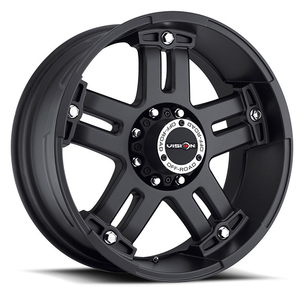 Vision Off-Road 394 Warlord Matte Black