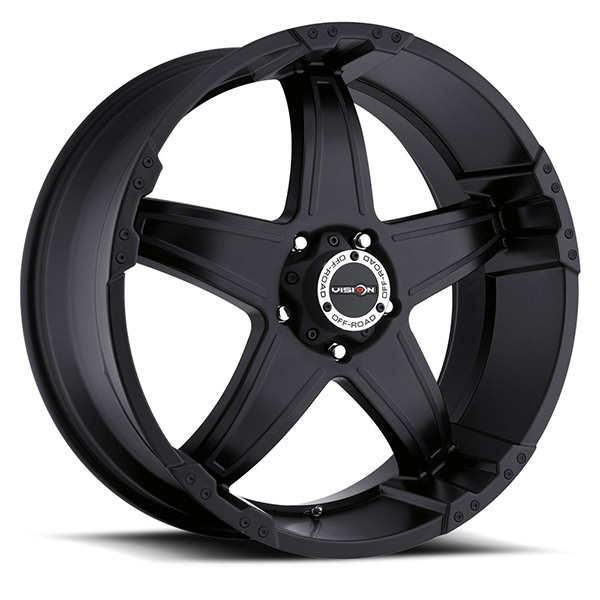 Vision Off-Road 395 Wizard Matte Black