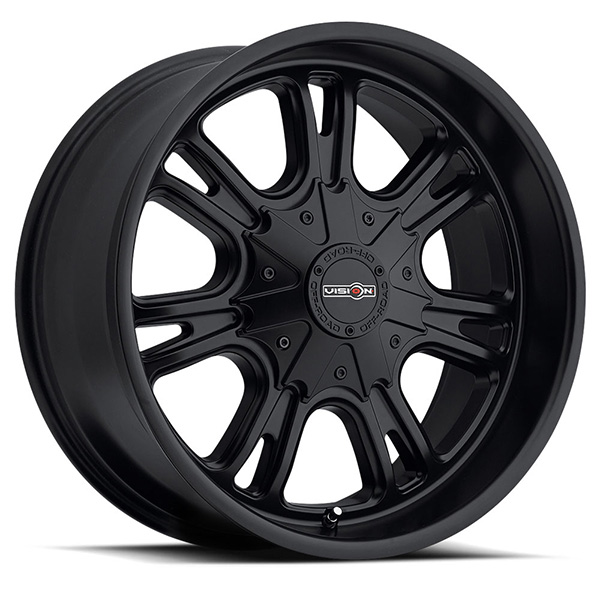 Vision Off-Road 3992 Storm Matte Black