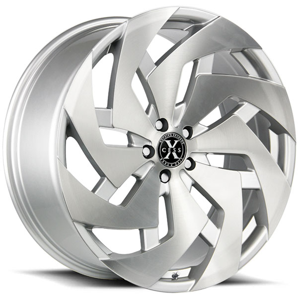 Xcess X04 Brushed Silver with Machined Face