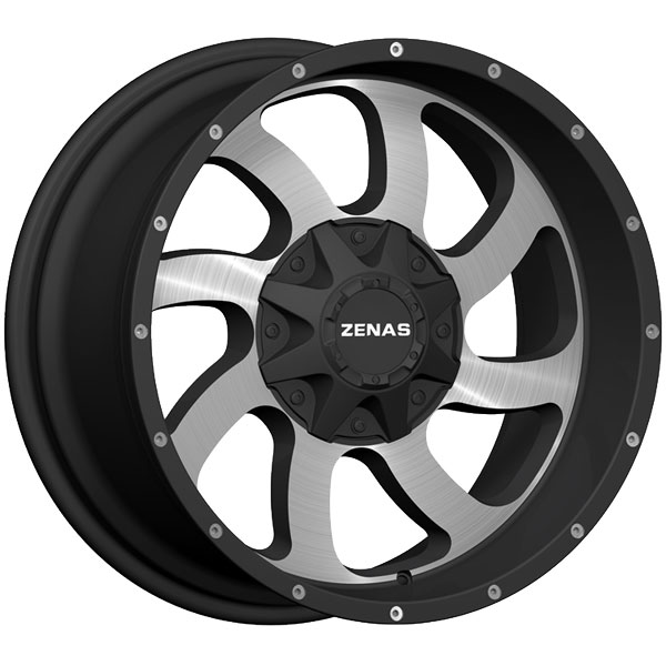 Zenas ZW05 Black with Machined Face